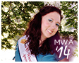2014 Ms. Wheelchair America smiling, click for her biography